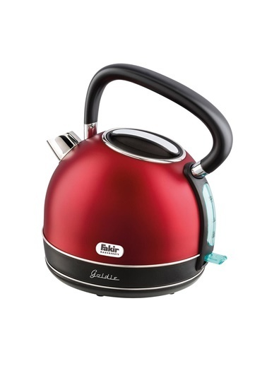 Fakir Goldie Kettle 2200 W 1.7 lt Çelik Kırmızı Renkli
